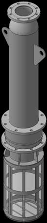 Filter for floating pumping station