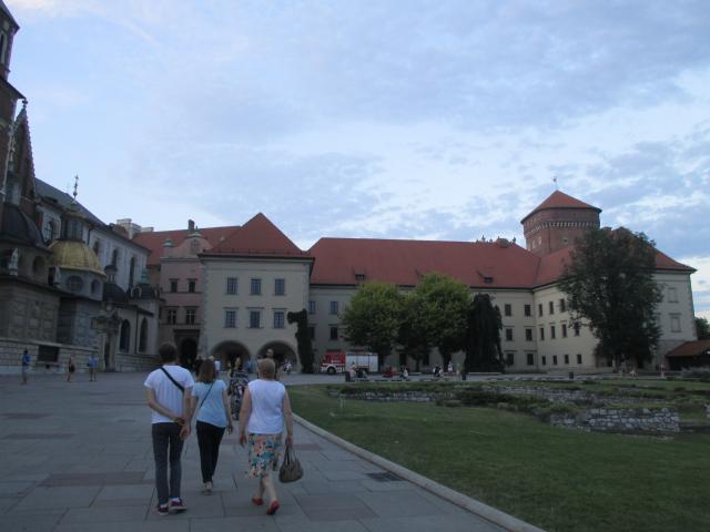 Krakow, Poland, Wawel Castle